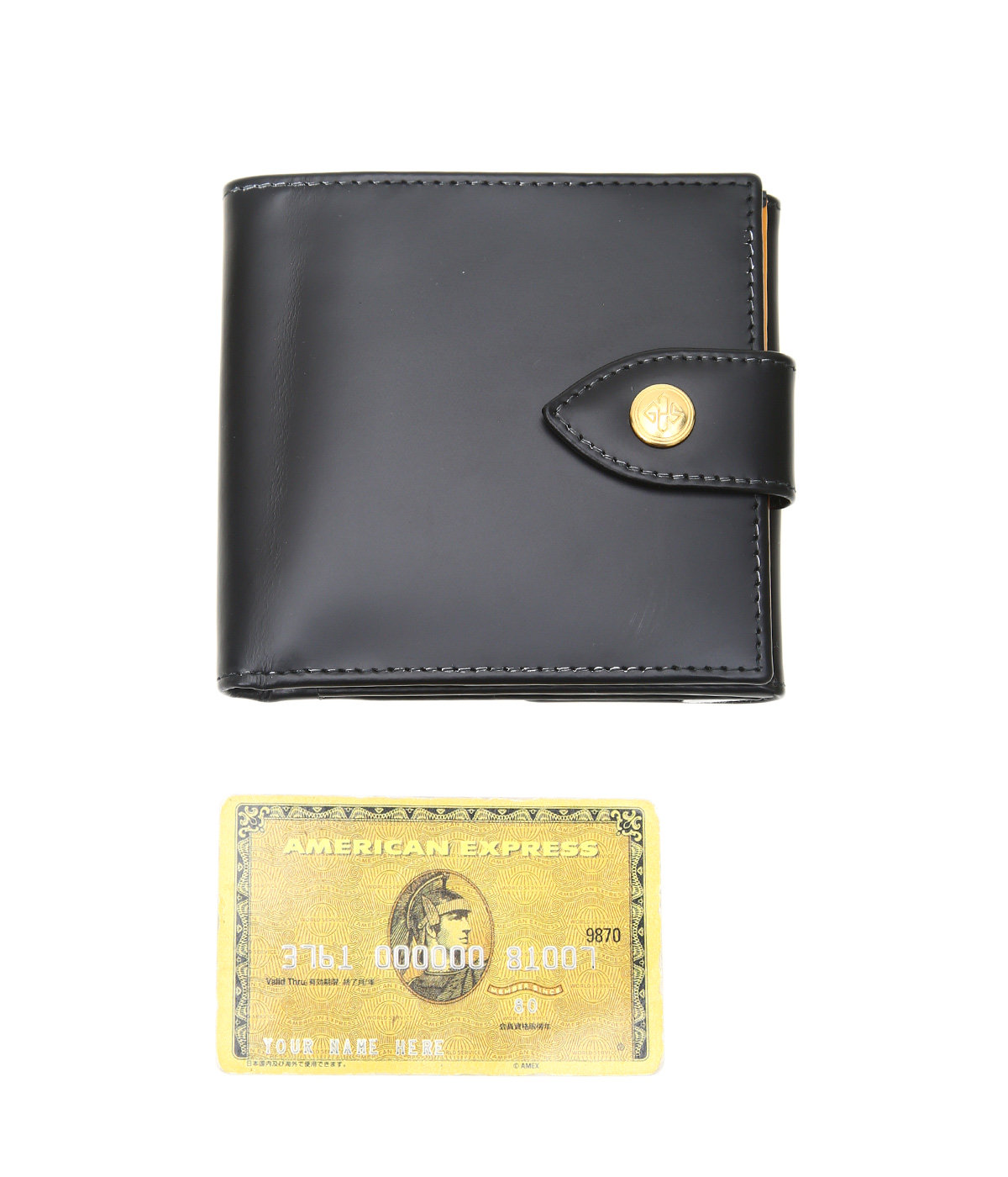 Tab Wallet w. 10 C/C+Purse