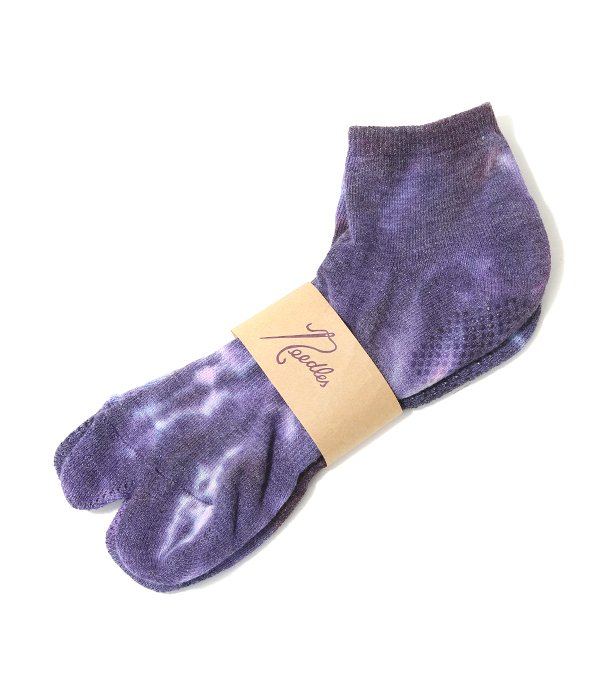 Coolmax Thumb Ankle Socks - Uneven Dye