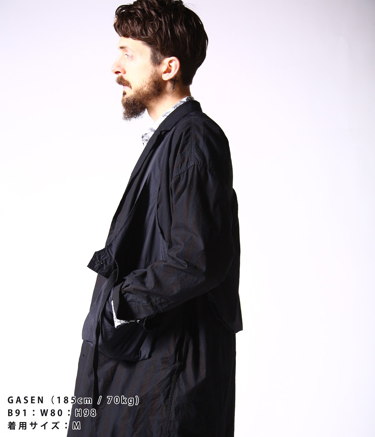 別注Fowl Vest - Acrylic Coated Nylon Taffeta