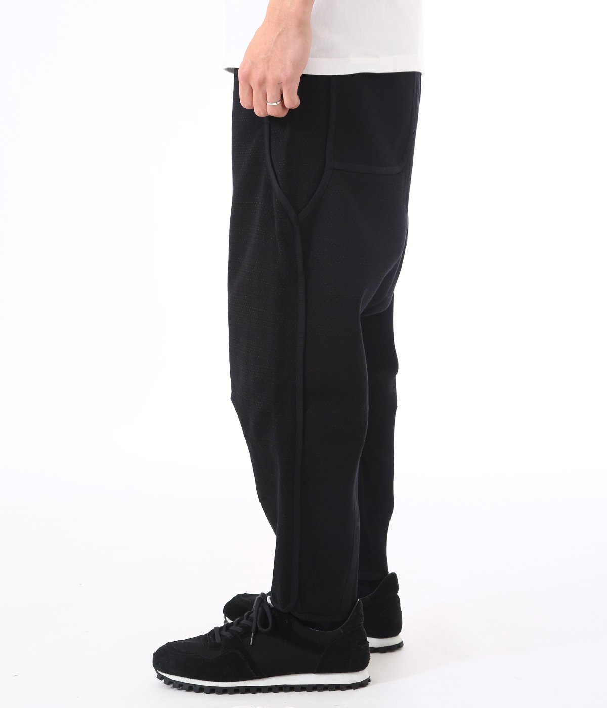 TAPERED CROPPED PANTS