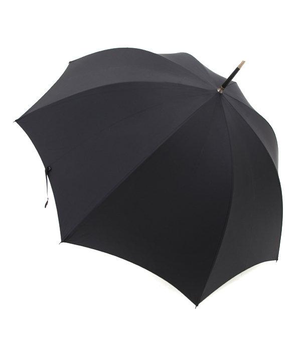 TUBE-BLACK LEATHER / 長傘