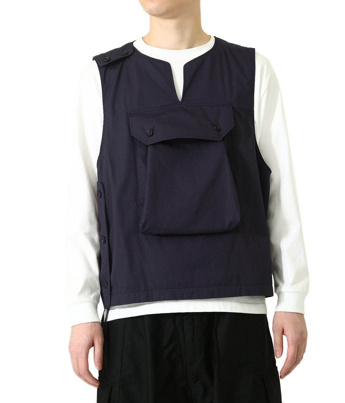 Cover Vest - High Count Twill