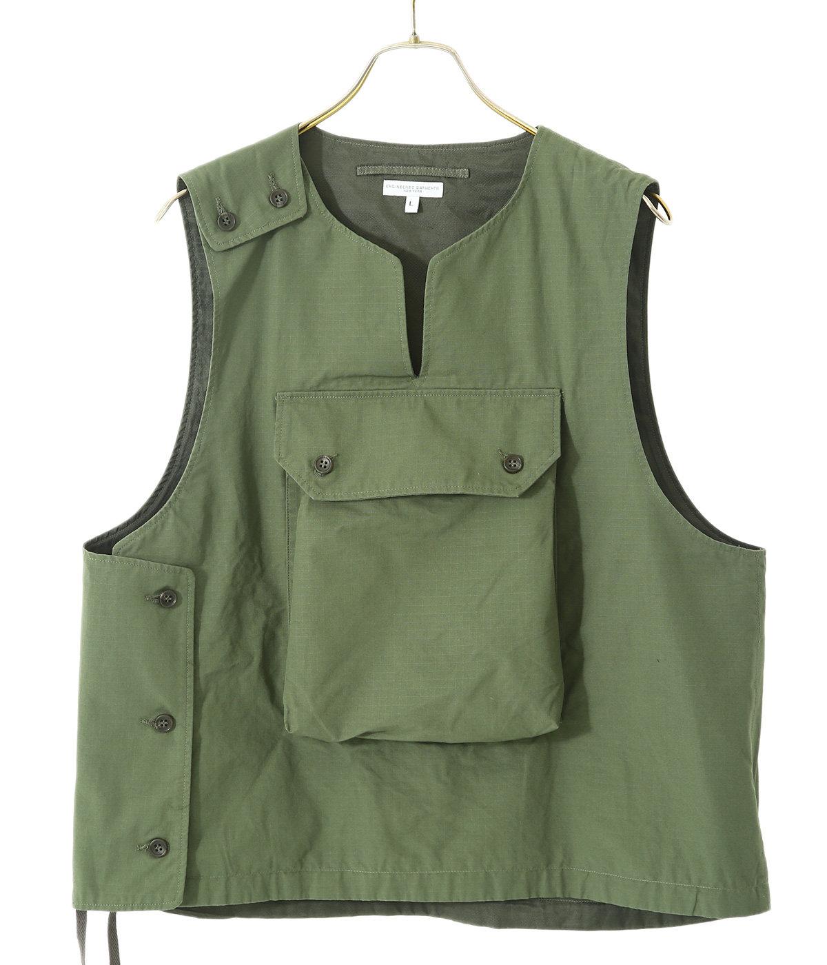Cover Vest - Cotton Ripstop