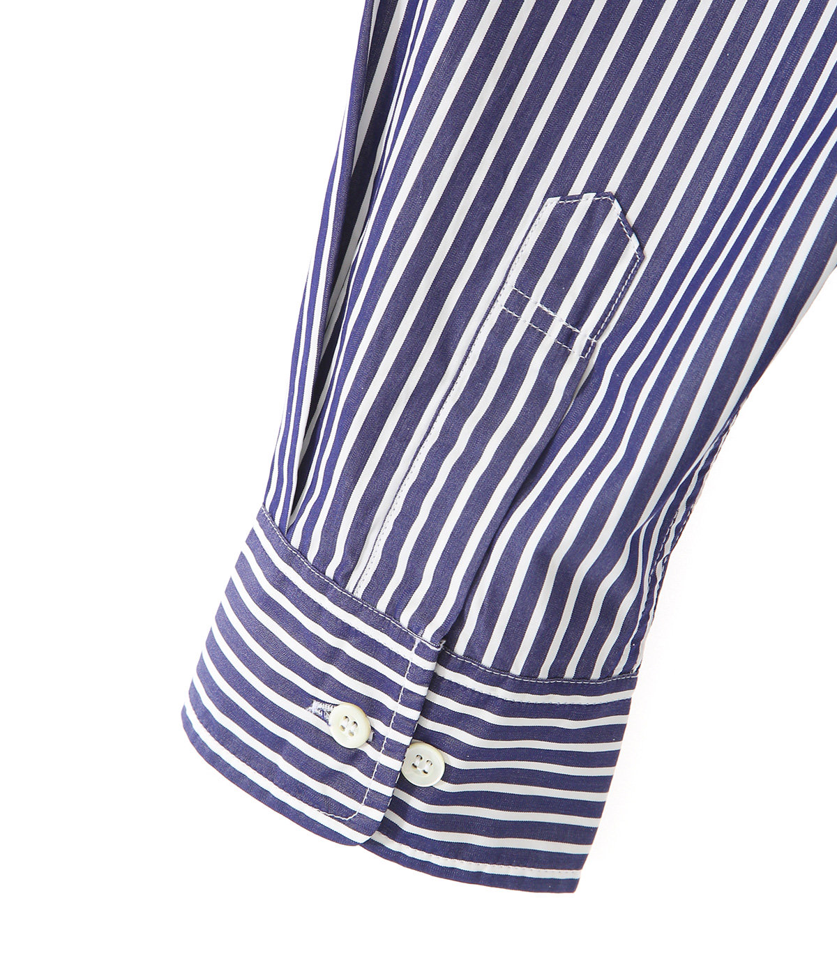 120/2 BROAD STRIPE B.D. BIG SHIRT