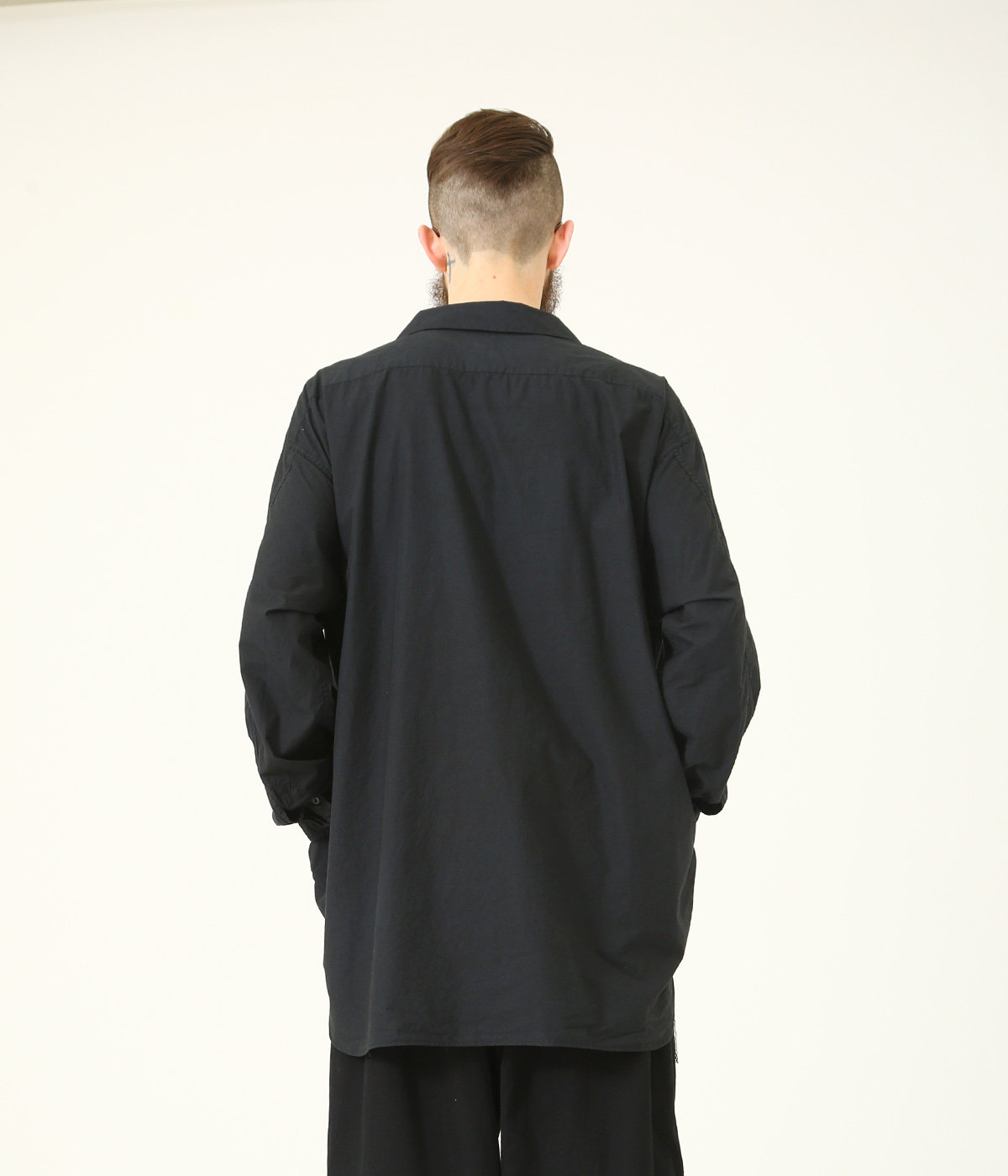 COTTON 80/ SLIK 20 120/2 BROAD SKIPPER SHIRT