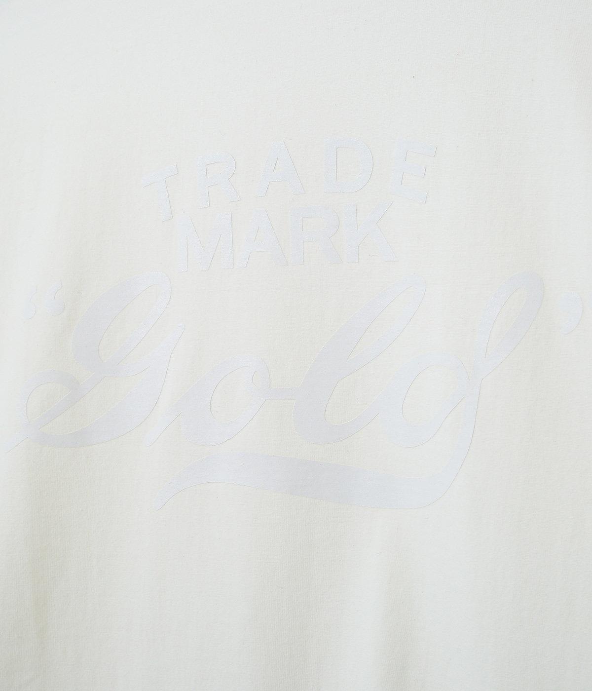 【別注】HEAVY天竺 PRINT L/S  TEE -GOLD-