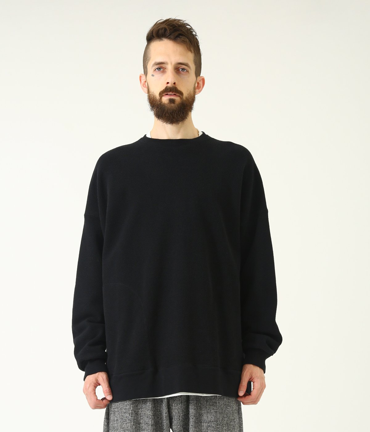 HEAVY KANOKO BIG SWEAT SHIRT