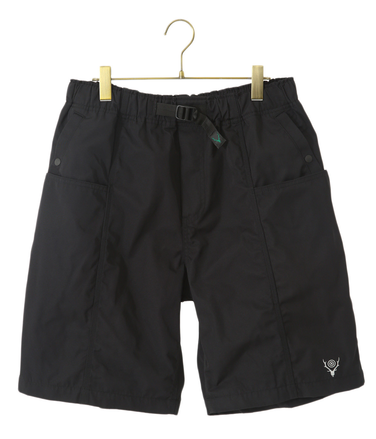 Belted Center Seam Short - Poly Gabardine