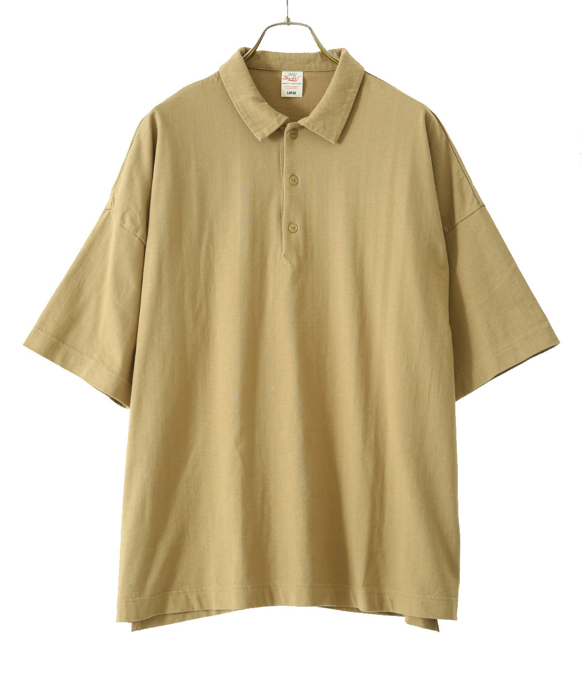 30/2 HEAVY SUVIN COTTON S/S BIG POLO SHIRT