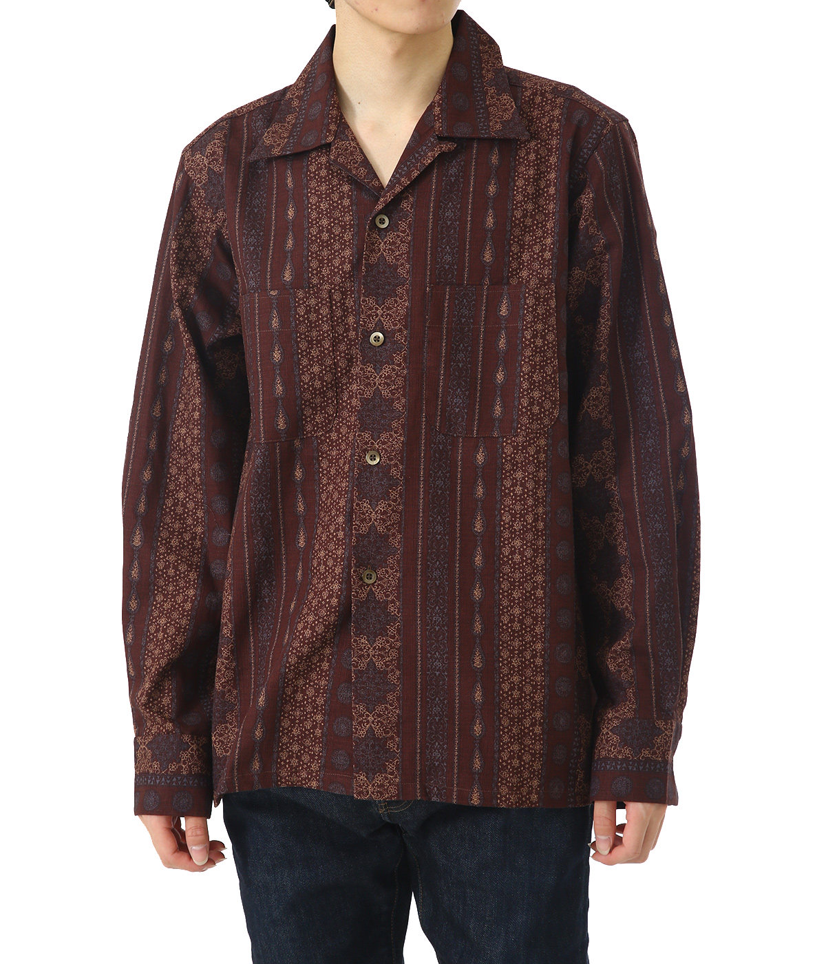 One-up Shirt - C/L Cloth / Arabesque