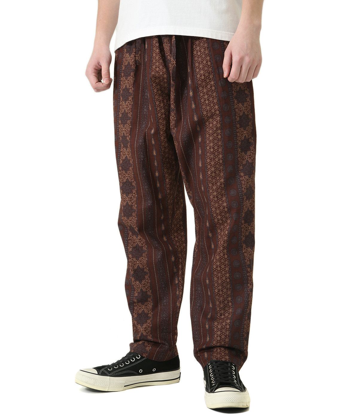 String Slack Pant - C/L Cloth / Arabesque