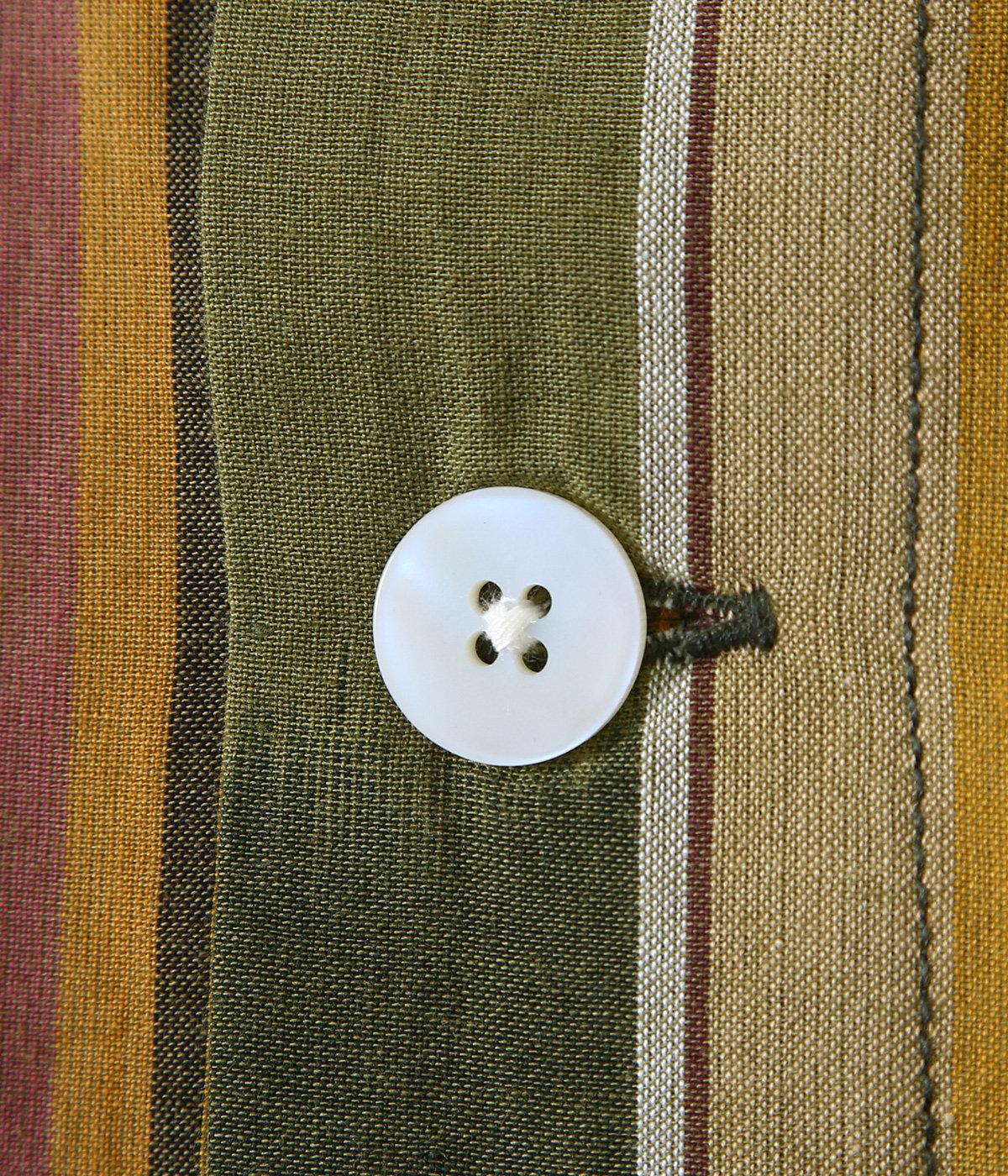 Smokey Shirt - Cotton Cloth / Ikat Pattern