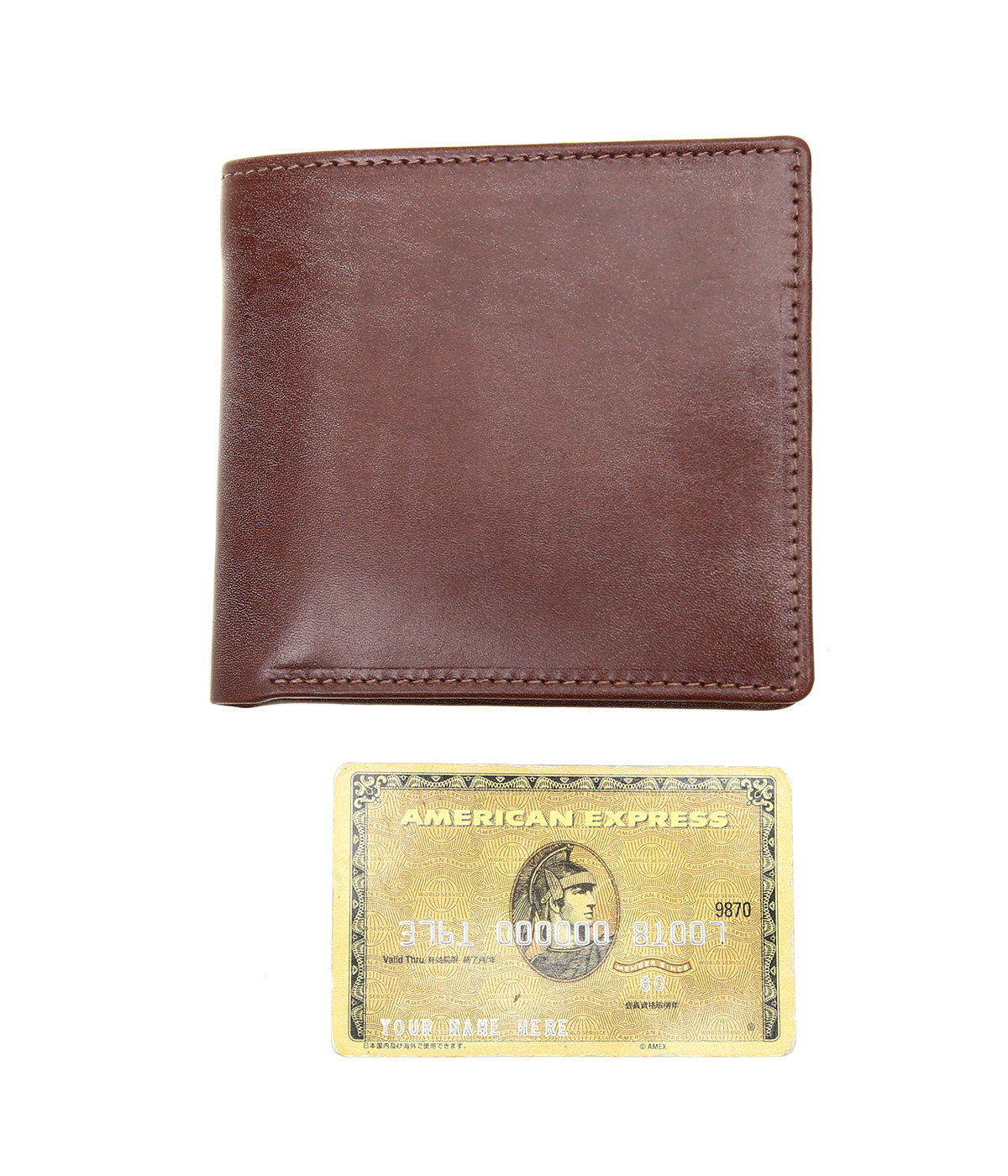 NOTECASE WITH COIN CASE(ANTIQUE Bridle Leather)