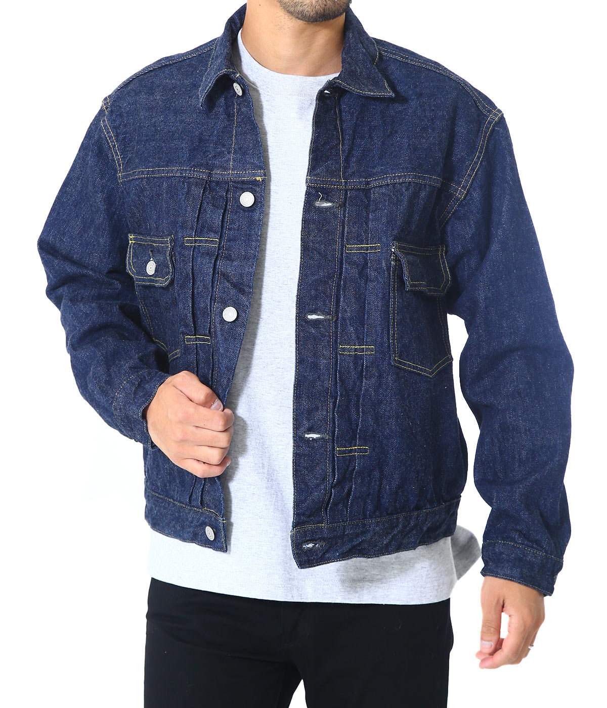 50's DENIM JACKET ONE WASH