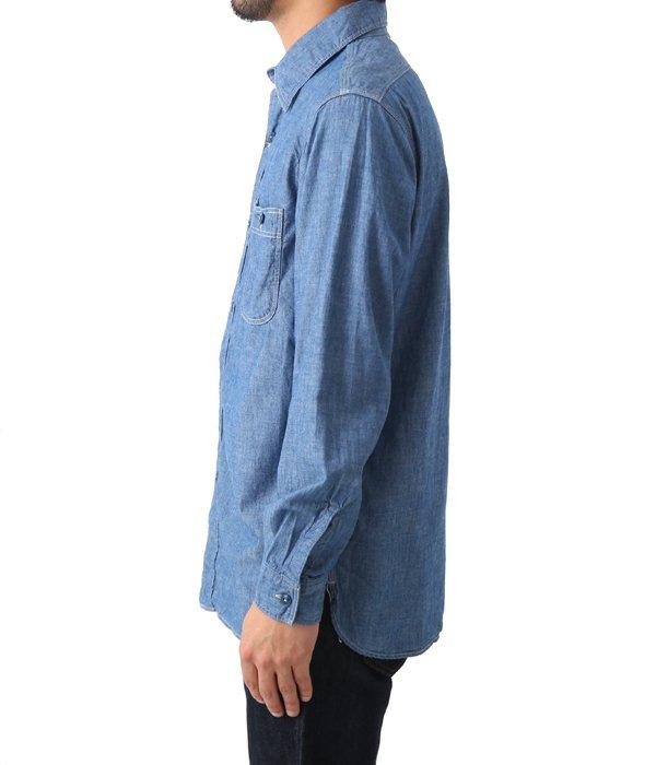Chambray shirts blue