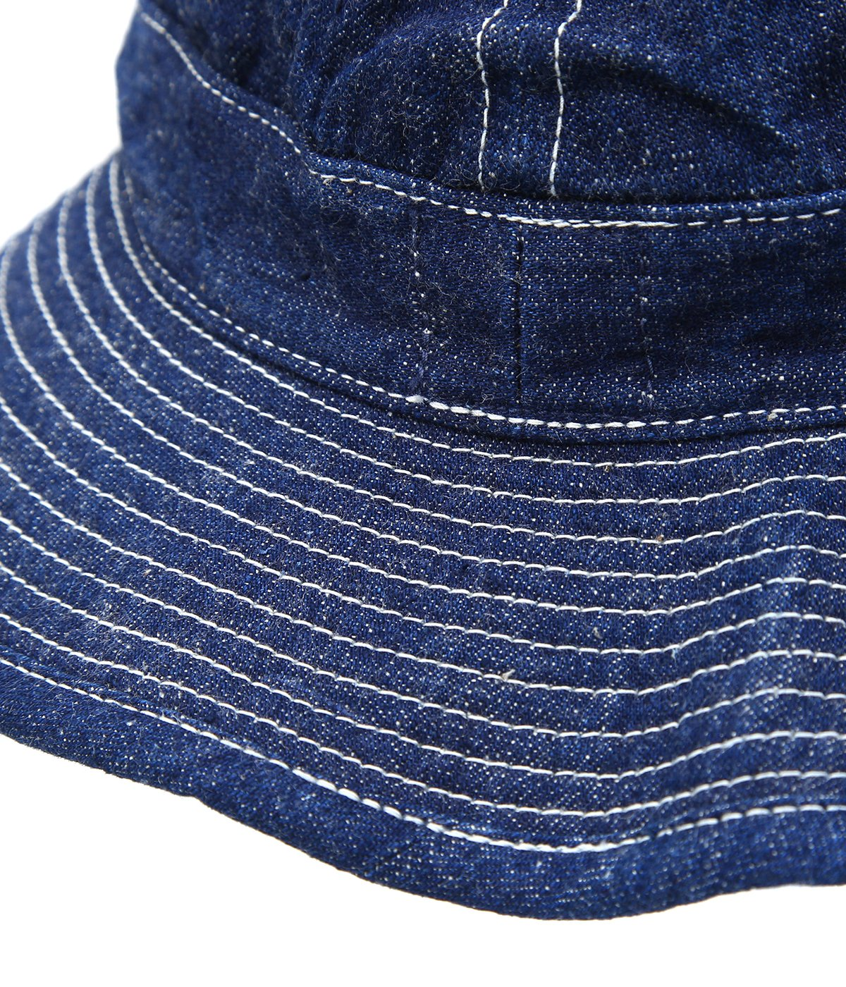 US NAVY HAT -DENIM/WHITE ST-