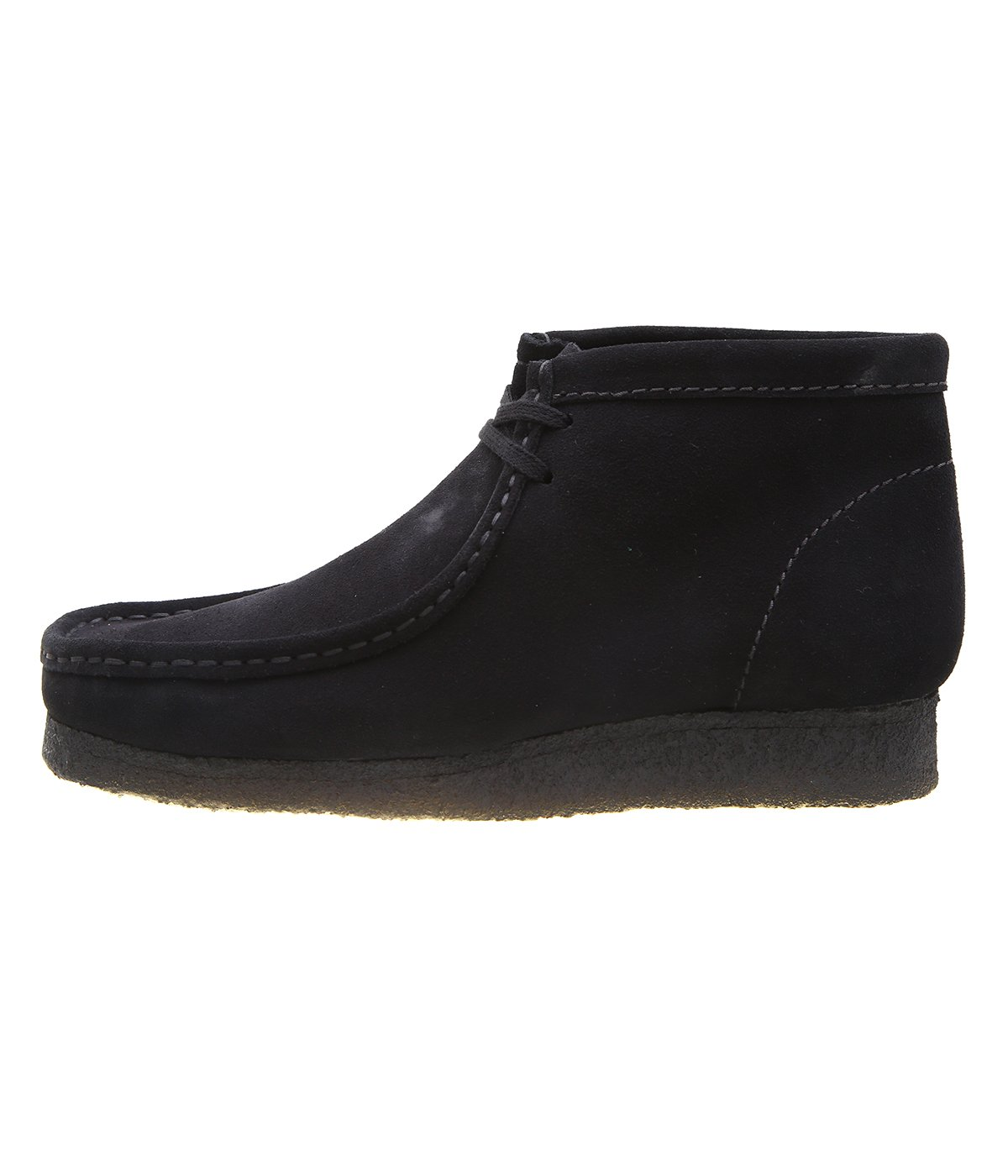 WALLABEE BOOT -BLK SUEDE-
