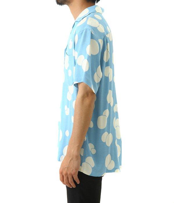 ST2173 バブルドット ハワイアンシャツ