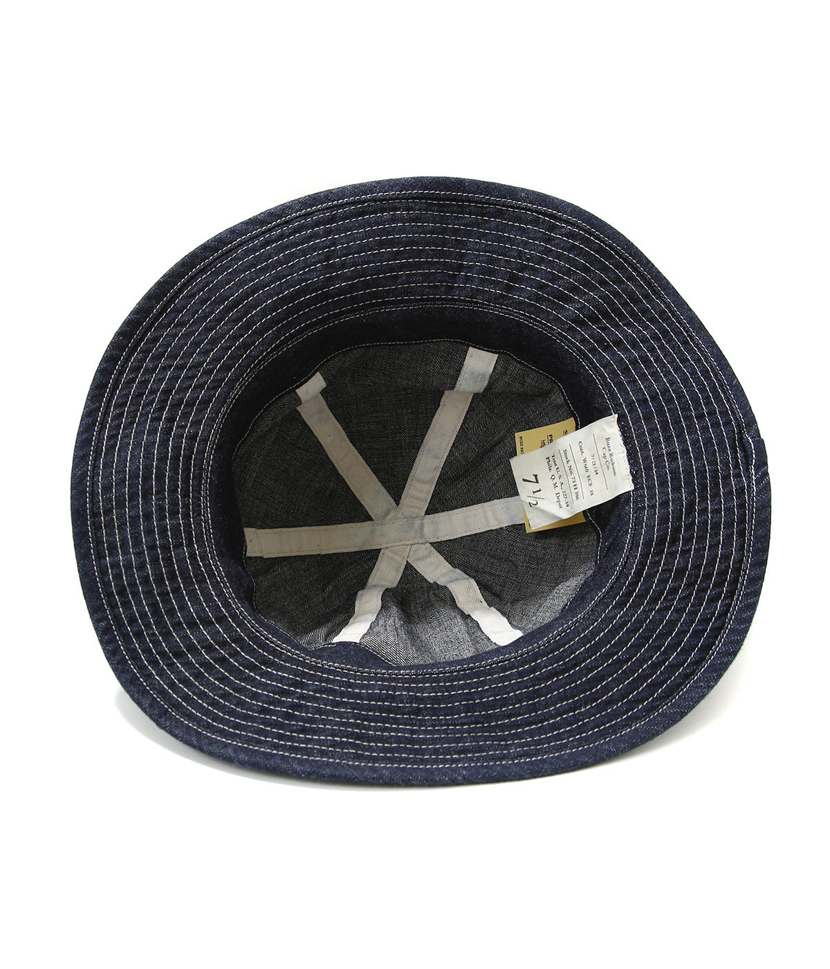 HAT WORKING DENIM