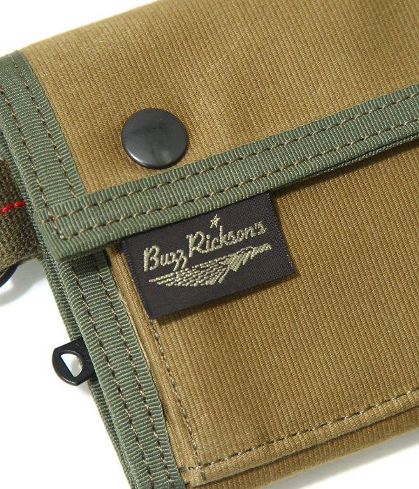 BUZZ RICKSON'S × PORTER JUNGLE CLOTH WALLET
