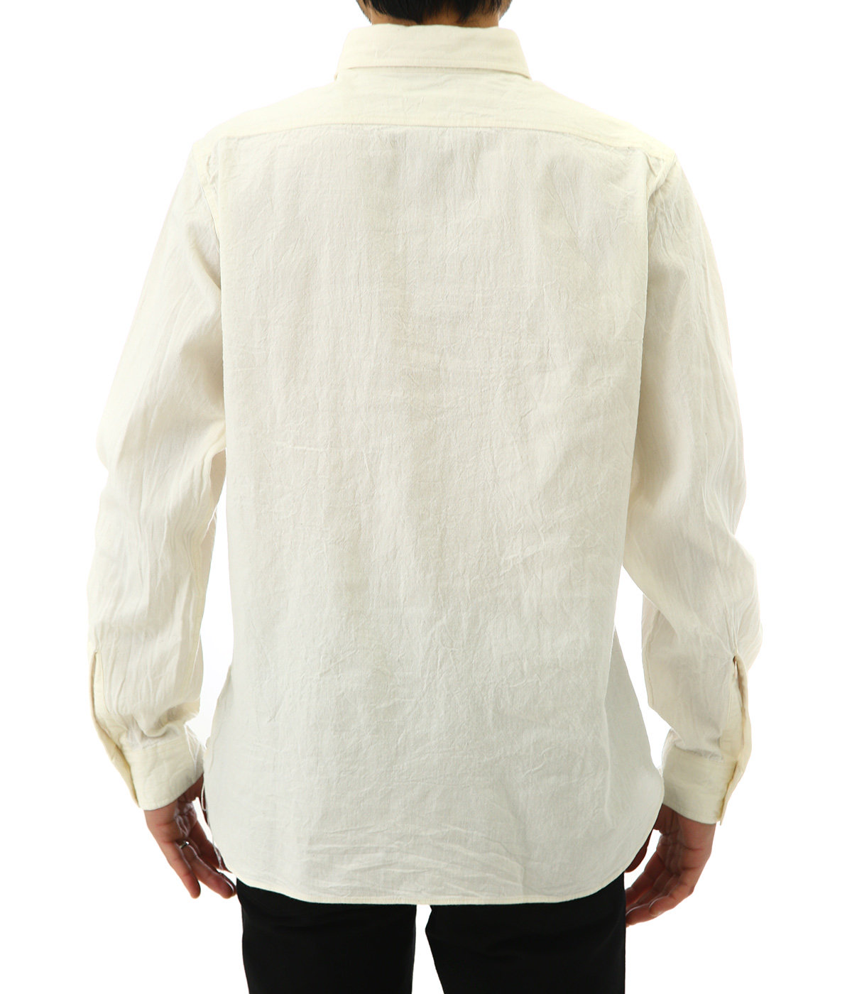 WHITE CHAMBRAY WORK SHIRT