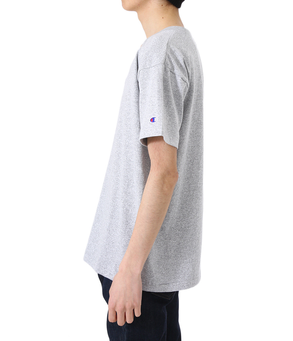 77QS V-NECK T-SHIRT
