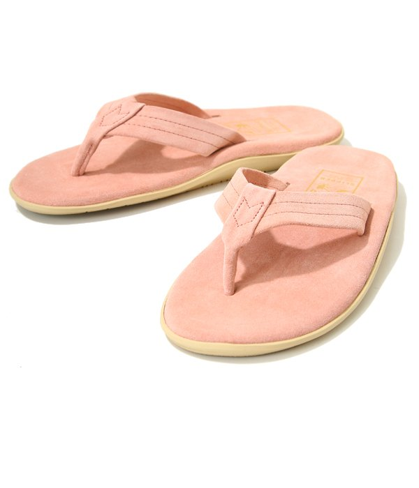 PT203 / SUEDE THONG  -PINK SUEDE-