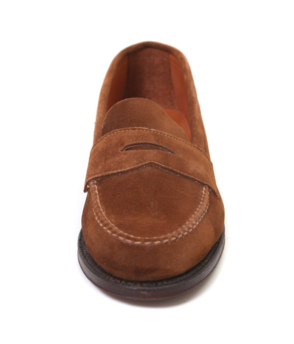 CALF SUEDE  PENNY LOAFER (カーフスウェード・バンラスト・ウォーターロックソール)