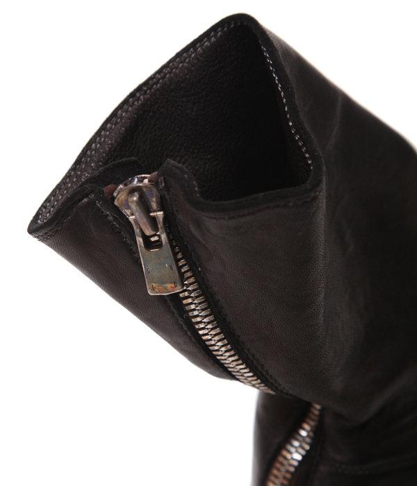 988 Horse Full Grain Backzip Boot
