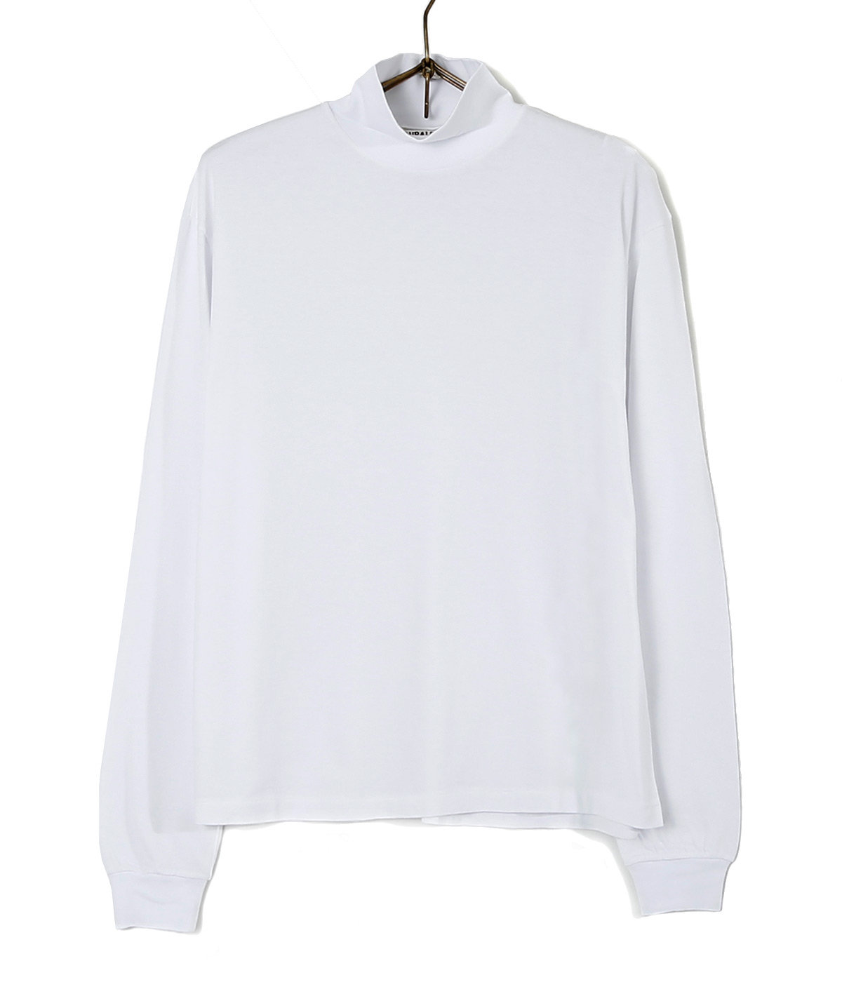 SEAMLESS HI NECK L/S TEE