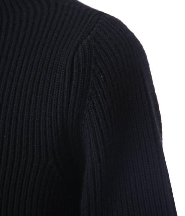 THE NAVY - CREWNECK -BLACK-