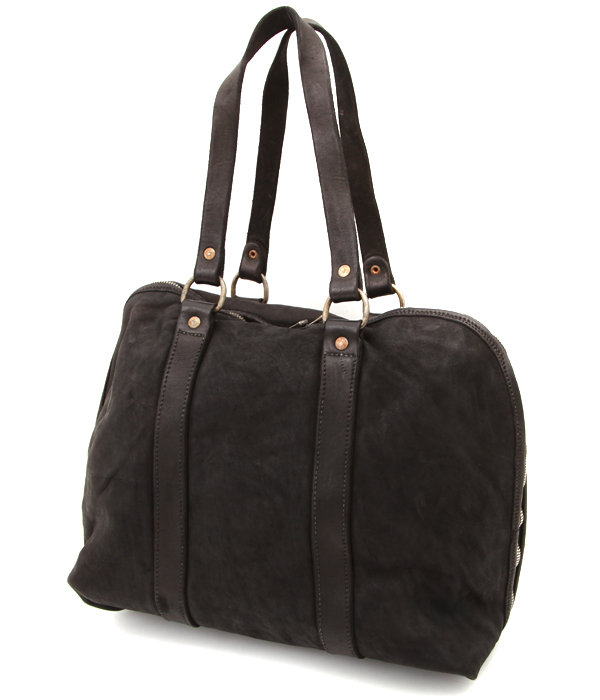 GB1A Soft Horse Full Grain Boston Bag