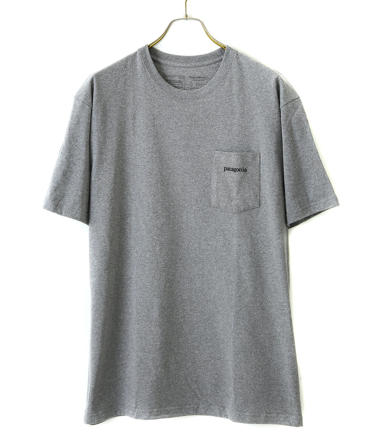 M's Line Logo Ridge Pocket Responsibili-Tee