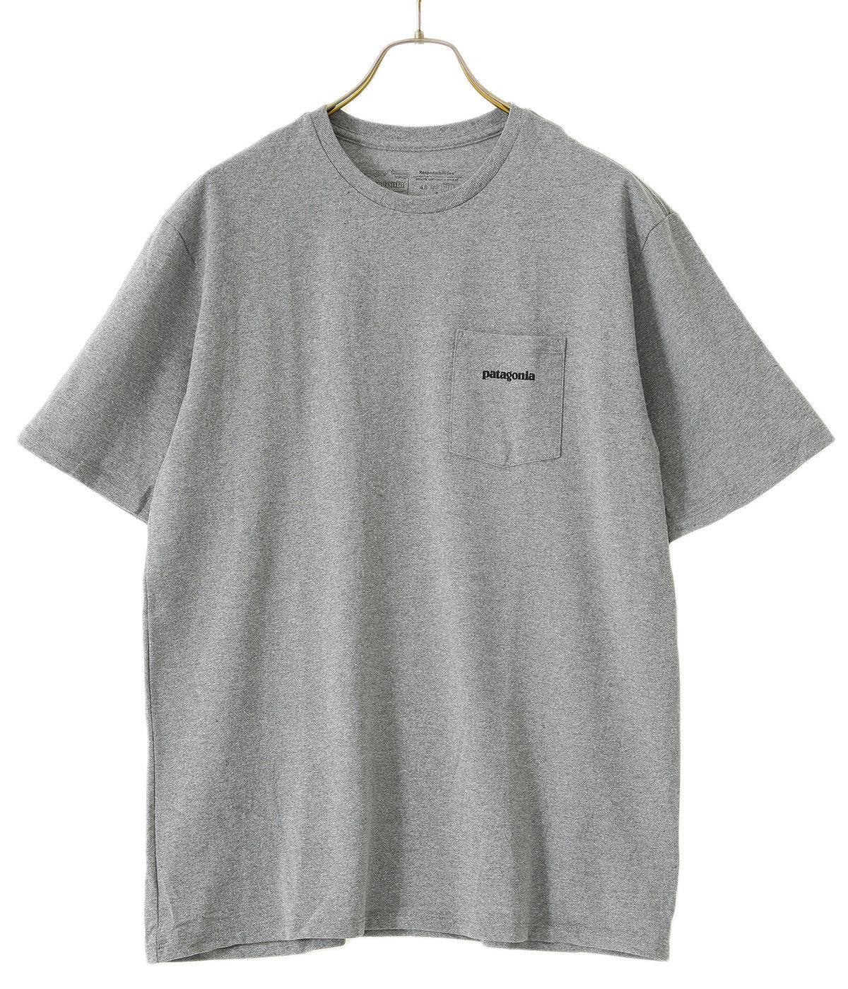 M's P-6 Logo Pocket Responsibili-Tee -BLK-