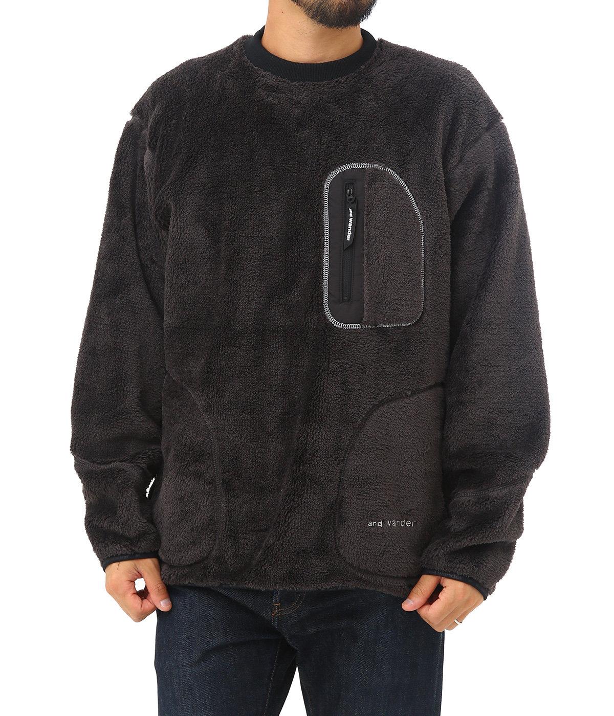 high loft fleece pullover