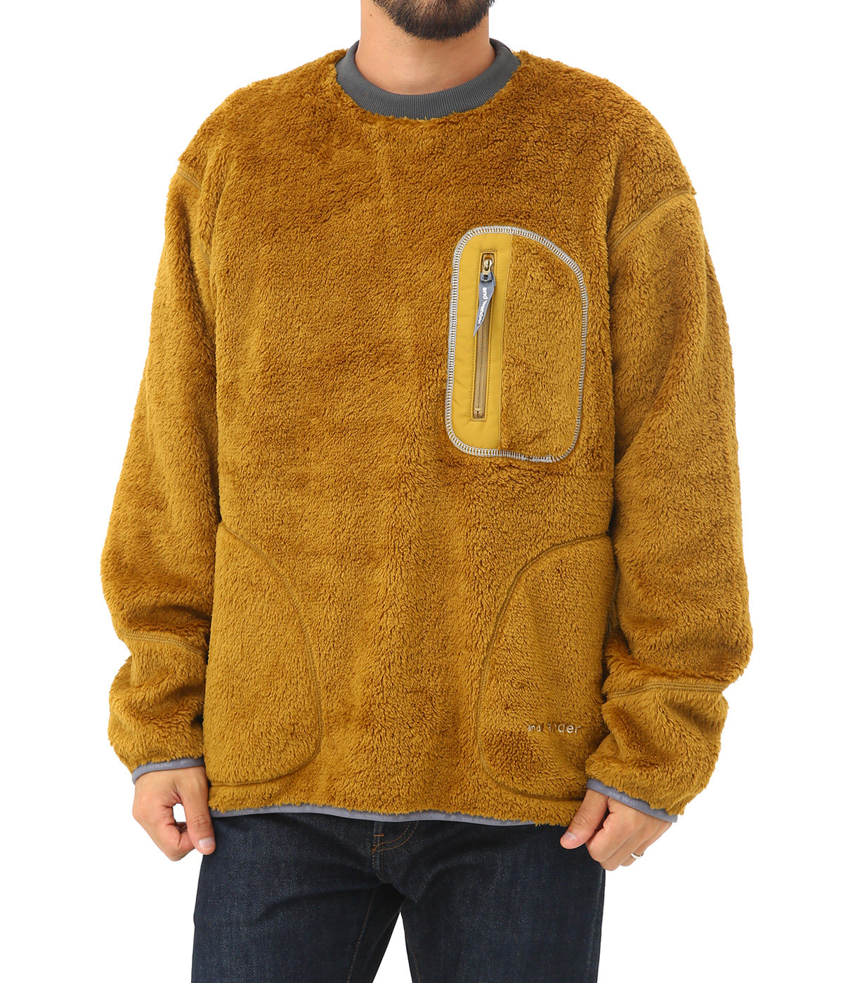 high loft fleece pullover
