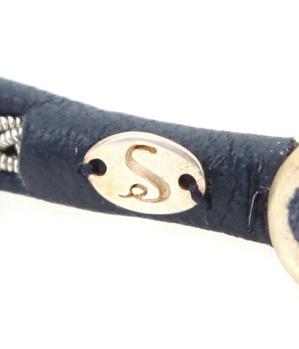 Leather SILVER (アンクレット)22cm