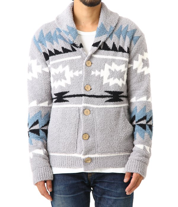 MEN'S Native Shawl Cardigan