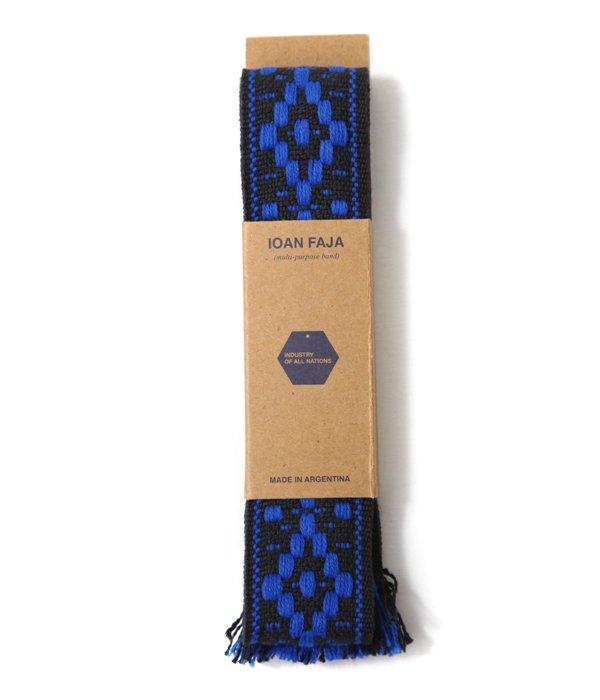 IOAN FAJA BELT BLACK/BLUE
