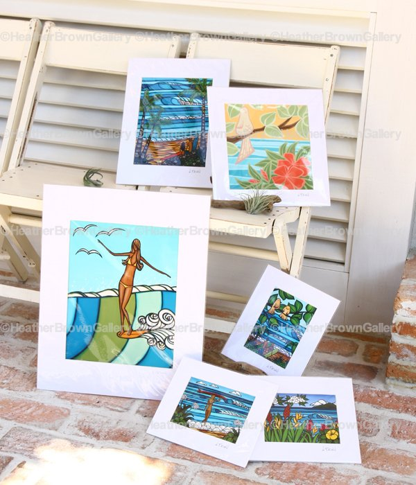 Art Print 8×10 「Surf Stroll」