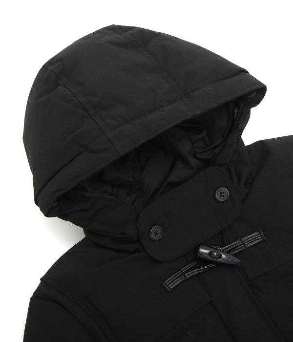 【レディース】<DALMENY(ダルメニー)>-DOWN FILL DUFFLE PARKA-BLACK-
