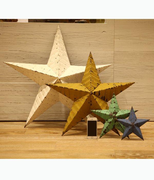 Handmade Tin stars 22inch