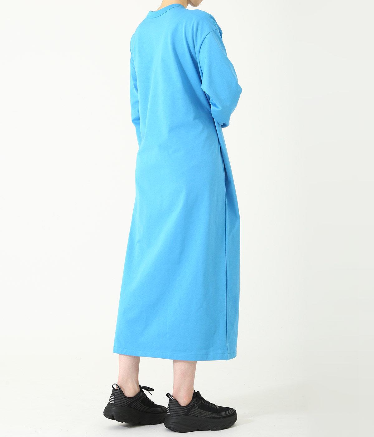 【レディース】GIZA COTTON MAXI L/S