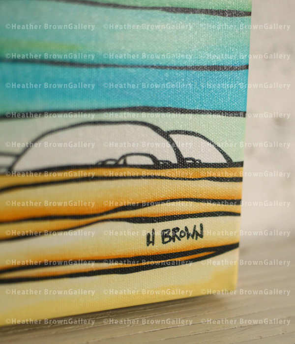 Giclee 12×24 「Daydream Sea」