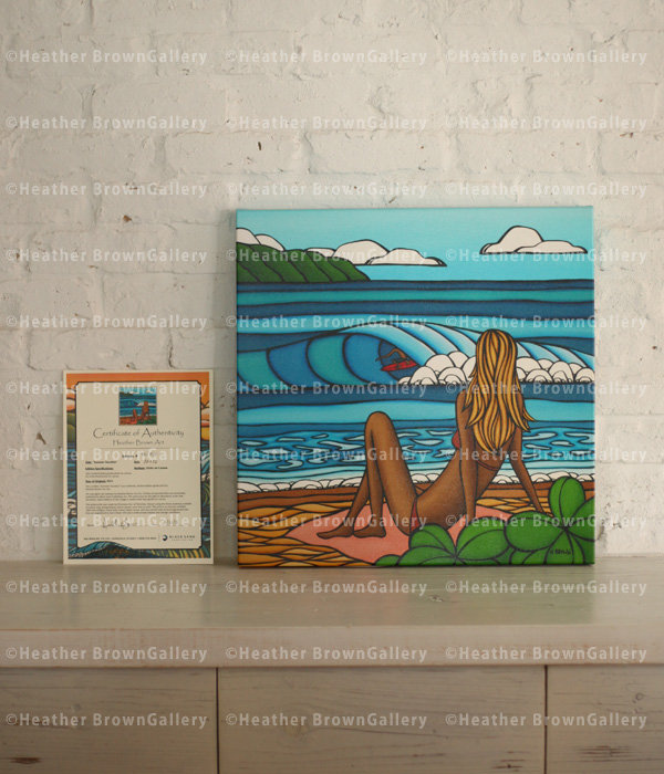 Giclee 20×20 「Summer Vacation」
