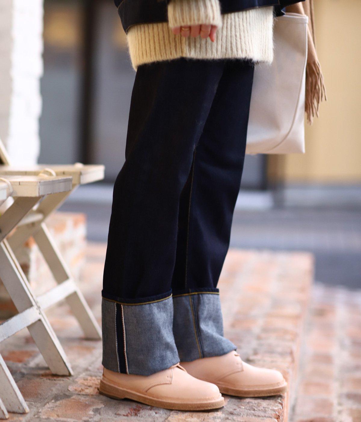 【レディース】selvage denim 5pocket woman fits