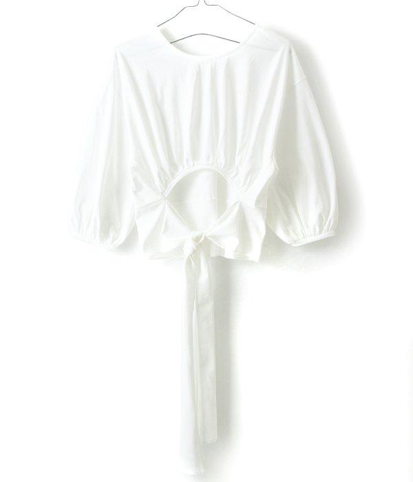 【レディース】Jersey back bow top