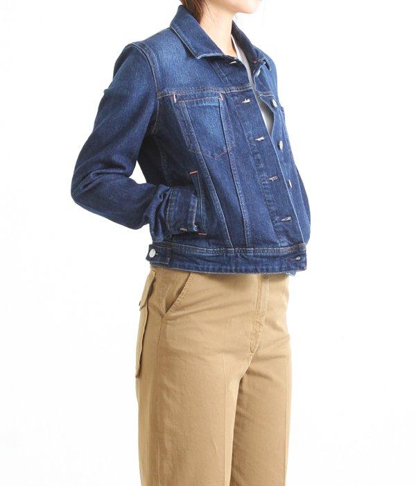 【レディース】Cliff Dk Blu S(denim jacket)