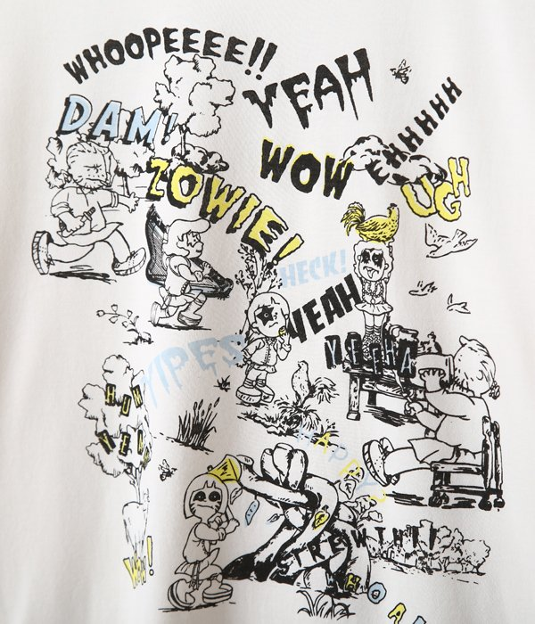 【レディース】suvin jersey beans talk pt t-shirt