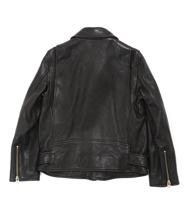 【レディース】vintage leather riders jacket